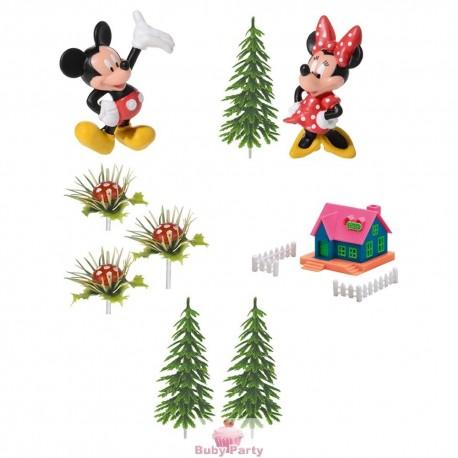 Kit Torta Topolino E Minnie Disney Modecor