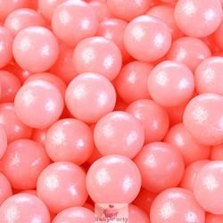 Perle Di Zucchero Perlescenti Rosa Ø 0,9 cm 100g Modecor