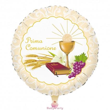 Palloncino Mylar Prima Comunione Ø 45 cm Big Party