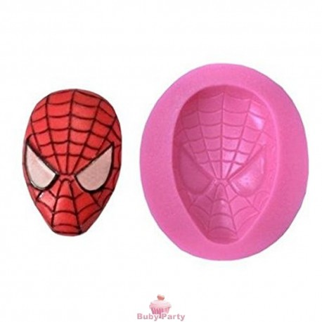 Stampo In Silicone Maschera Spiderman