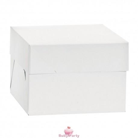 Scatola Porta Torta A Piani Alta 25 cm Decora