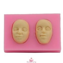 Stampo In Silicone Visi Per Soggetti In 3D