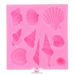 Stampo In Silicone Conchiglie Marine