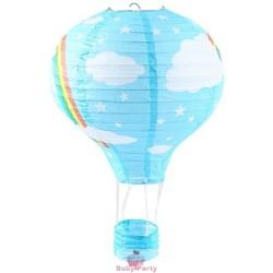 Lanterna Mongolfiera Cielo Arcobaleno