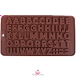 Stampo In Silicone Lettere Di Cioccolato