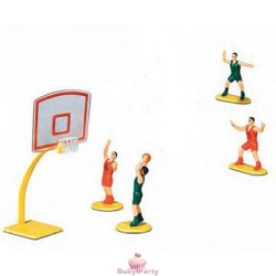 Kit Basket Per Torte A Tema 5 Pz Ambra's