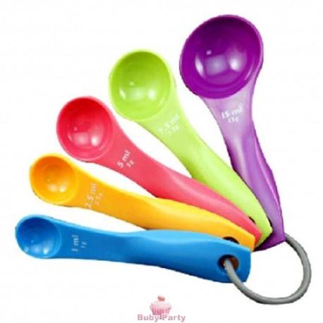 Set 5 Cucchiaini Misura Spoons