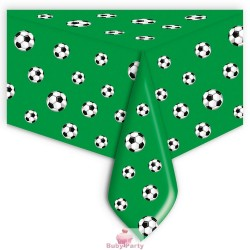 Tovaglia In Plastica Tema Calcio 140x270 cm Big Party