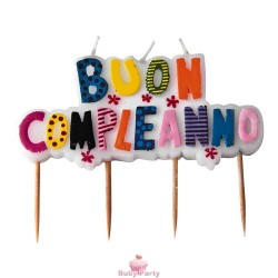 Candelina Picks Buon Compleanno Mix Big Party