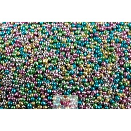 Perle Di Zucchero Metallizzate Color Mix 50g Ambra's