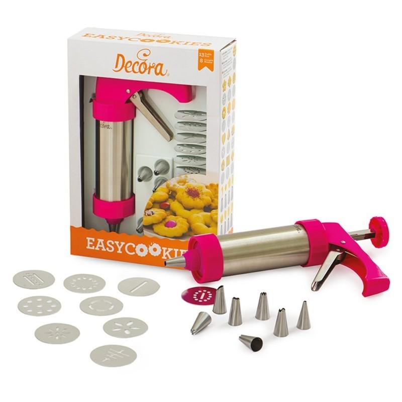 Pistola Per Biscotti Easy Cookie Con Cilindro In Acciaio Inox