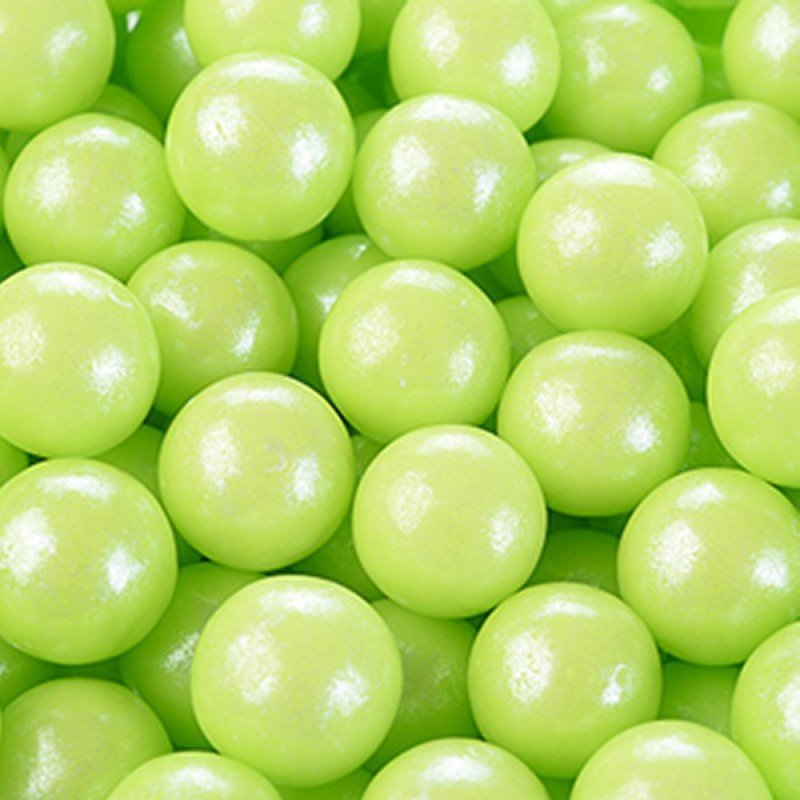 Perle Di Zucchero Perlescenti Verdi Ø 0,9 cm 100g Modecor