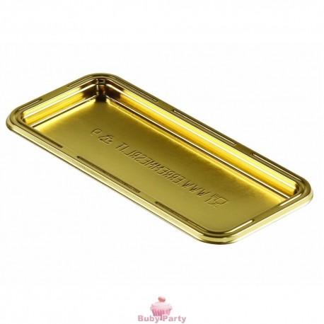 100 Monoporzioni Fetta Trancio Oro Marrone 13X6 Cm