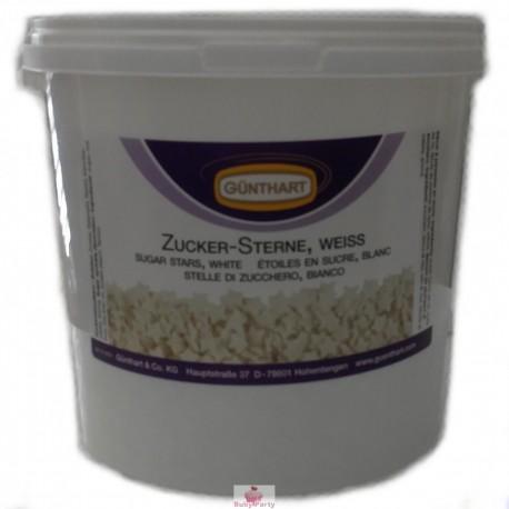 Stelle Di Zucchero Bianche Da Spargere 1,5 Kg Günthart