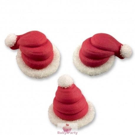 Set 3 Cappellini Babbo Natale In Zucchero 3D Günthart