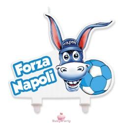 Candelina Sagomata Per Torta Forza Napoli