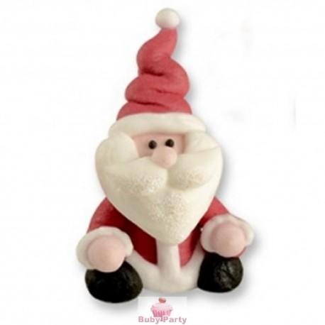 Babbo Natale Seduto In Zucchero 3D Günthart