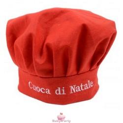 Cappello Da Cuoca Natalizio Taglia Unica