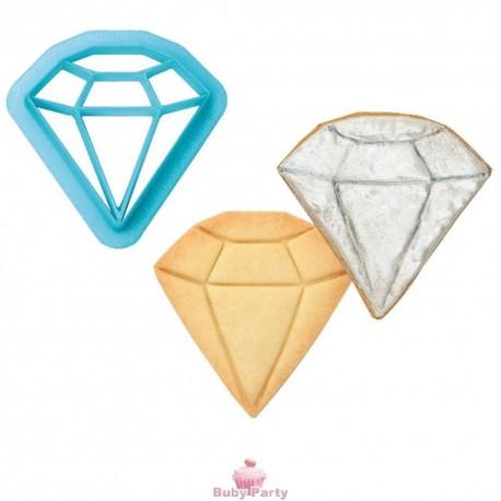 Tagliapasta Forma Diamante In Plastica Ø 6 Cm Decora