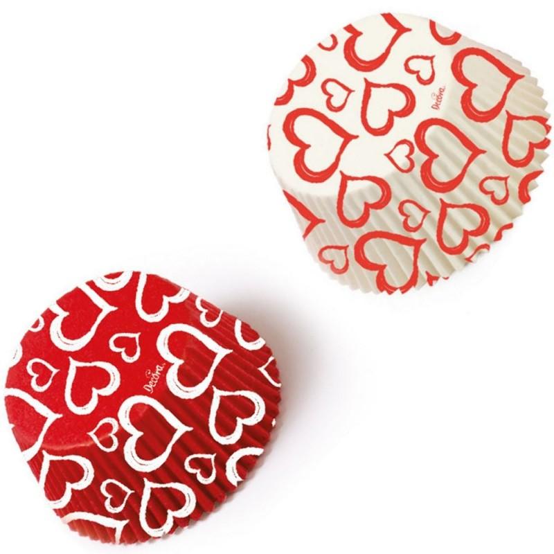 36 Pirottini In Carta Forno Love San Valentino Decora