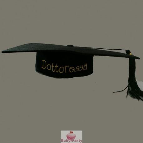 Cappello Tocco Dottoressa Per Festa di Laurea