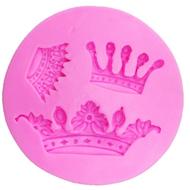 Stampo In Silicone Corona 3 Impronte
