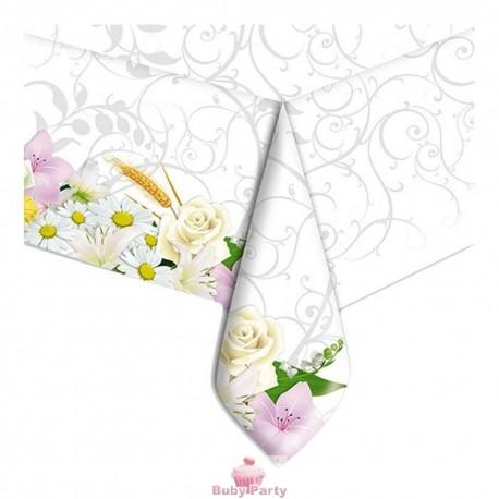 Tovaglia In Plastica Bouquet 140 x 270 cm Big Party