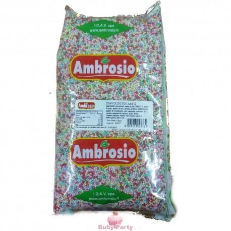 Diavolini Di Zucchero Fini Colorati Per Dolci 1 Kg Ambrosio