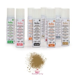 Colorante Alimentare Spray Oro Metallizzato 75 ml Decora