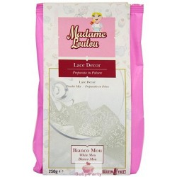 Preparato Per Pizzi Lace Decor Bianco 250g Madame Loulou