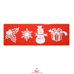 Stampo In Silicone Per Pizzi Sweet Lace Express Natale 3.0