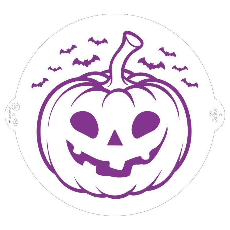 Stencil Zucca Halloween Ø 25 Cm Decora