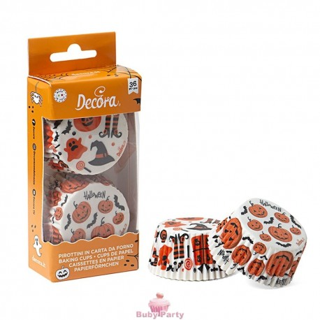 36 Pirottini Halloween Ø 50X32 mm Decora