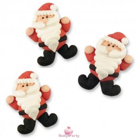 Set 3 Babbo Natale In Zucchero Piatto Günthart
