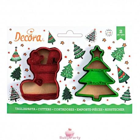 Tagliapasta Albero Natale E Scarpone Decora