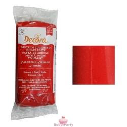 Pasta Di Zucchero Rossa 100g Decora