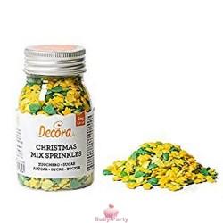 Decorazioni In Zucchero Christmas Sprinkles 60g Decora