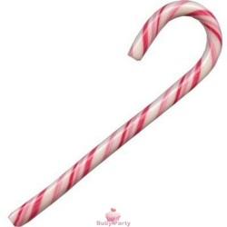 10 Candy Canes Rosso E Bianco In Zucchero Alla Fragola 12g