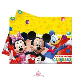 Tovaglia Club House Topolino Minnie Paperino 120 x 180 cm