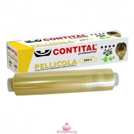 Pellicola PVC Trasparente 300 Metri Contital