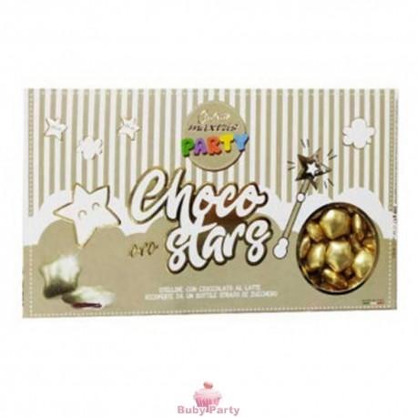 Confetti Stelline Choco Star Oro 500g Maxtris