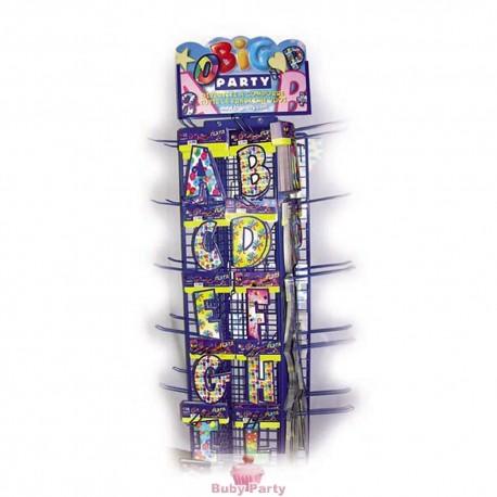 Lettere Componibili In Cartoncino Colorate 20 Cm Big Party