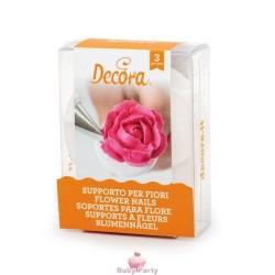Set 3 Supporti Per Fiori In Ghiaccia Reale O Crema Al Burro Decora