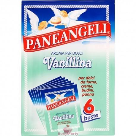 6 Bustine Vanillina Aroma Per Dolci 3g Paneangeli