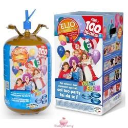 Bombola Gas Elio Per Gonfiaggio 100 Palloncini Festa Compleanno