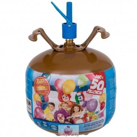 Bombola Gas Elio Per Gonfiaggio 50 Palloncini Festa Compleanno