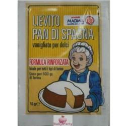 2 Bustine Lievito Pan di Spagna 15g Madma