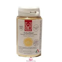 Colorante Alimentare In Polvere Oro Zecchino Liposolubile 25g Modecor