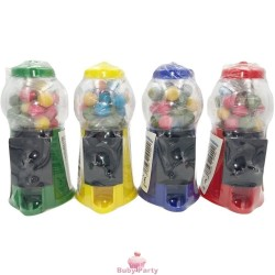 Set 4 Mini Distributori Gomma Da Masticare 40g