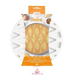 Griglia Tagliapasta Per Crostata E Pastiera Ø 30 cm Decora